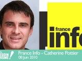 Manuel Valls invité de Catherine Pottier sur France Info