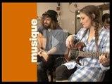 Session acoustique - Angus & Julia Stone - 'Big jet plane'