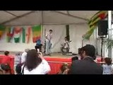 le groupe inafalen n taghjijt à Clichy lors de la fête des associations, Tamaynut-France