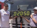 Israelis organise truck pulling competition