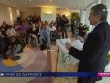 Conférence de presse sur la publicité à la RATP