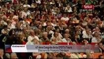 EVENEMENT,Discours de François Chérèque à l'occasion du congrès de la CFDT