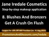 Jane Iredale discount coupon: Sale on Jane Iredale Cosmetics