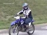 crash moto enduro