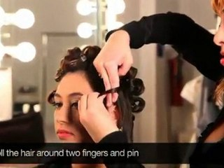 StyleCaster presents How to Create 1940s Pin Up Curls
