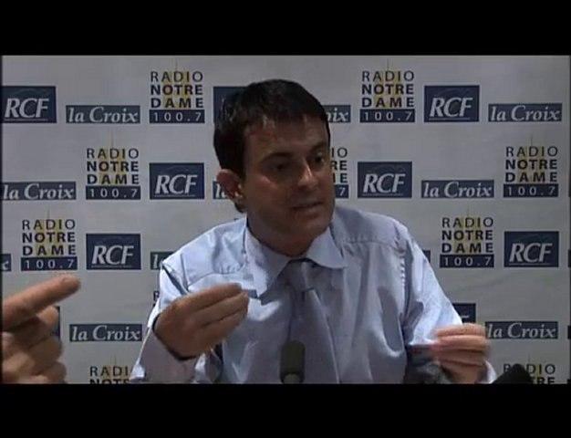 Manuel Valls - Face aux Chrétiens partie 2 - 10/06/2010