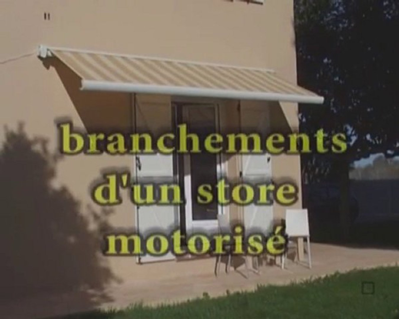 Store Banne Coffre Sunstyl Installation Pose Et Montage Video Dailymotion