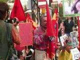 تظاهرات ایرانیان در مقابل سفارت در آنکارا 22 خرداد 89