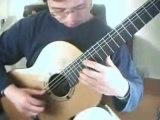 Tabs de guitarra clasica F. Tarrega - (Vals en en D Mayor)