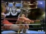 WWF- Pub pour figurine de Catcheurs VF