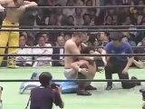 Bryan Danielson & Atsushi Aoki vs Taiji Ishimori & Kanemaru