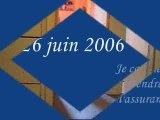 25 JUIN 2006 les 1ers pas de Baptistou