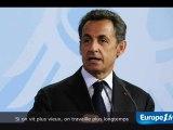 """Sarkozy assure une réforme """"juste"""""""