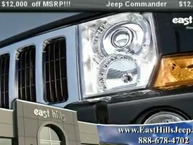 Jeep Commander NY from East Hills Jeep