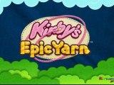 Kirby Epic Yarn Wii trailer E3 2010