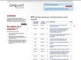 Opquast : les bonnes pratiques 2010