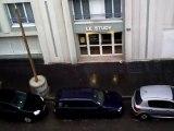Orages  fort et des impacts de foudre à Lyon le mercredi 16 juin 2010