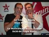 Canular Téléphonique Le Coup de Bourg : Alain Boghossian piégé par Olivier Bourg sur Virgin radio