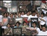 Commémoration du massacre de la place Tiananmen, à New York