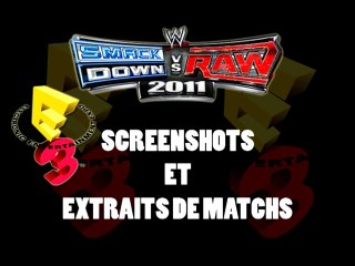 Smackdown vs raw 2011 match + photos