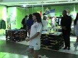 Lancement des maillots Umbro au Citadium de Paris