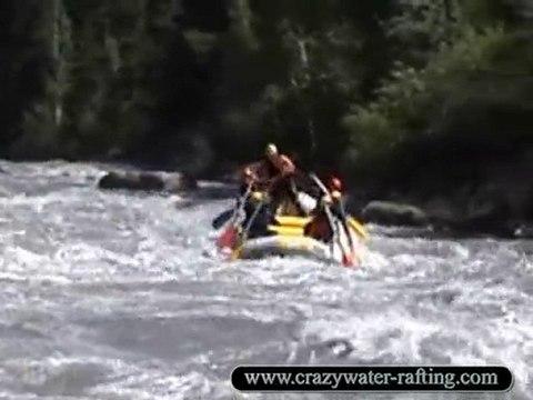 Rafting en Ubaye à Barcelonnette