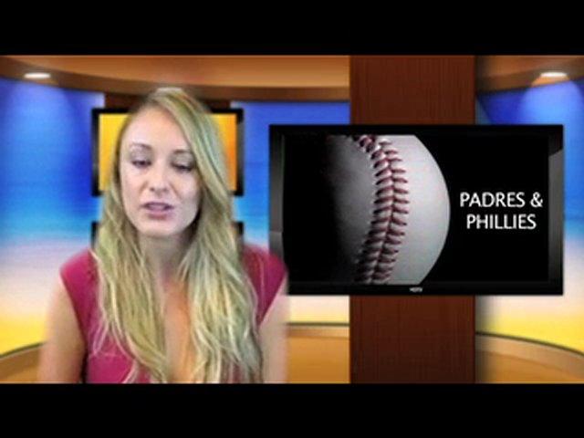MLB Baseball – Padres Vs. Phillies