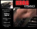 Synthétiseur Korg PS60 (La Boite Noire)