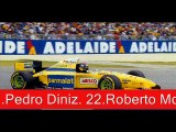 Cars that complete the 1995 Formula One Season