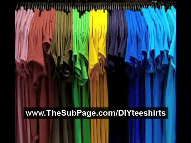Make Your Own Shirt   Screen Printing At Home   Screen Print
