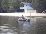 pêche au lac des vieilles forges dans les Ardennes