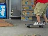 Skate dans les parties