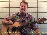 Train - Hey, Soul Sister Guitar lesson