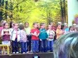 Le 18 juin 2010, spectacle d'école Samuel