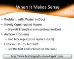 Calgary Furnace Repair - Furnace Replacement of Furnace Fil