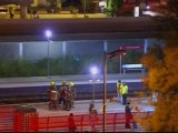 Train kills 12 crossing tracks to Spanish festival