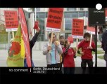 Anti-nuclear demonstration in Germany - no comment