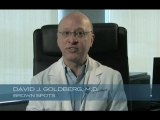 Removing unwanted age spots or brown spots with Dr. Goldberg