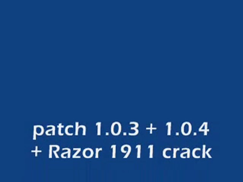 GTA 4 1 0 4 + 1 0 3 + razor 1911 crack