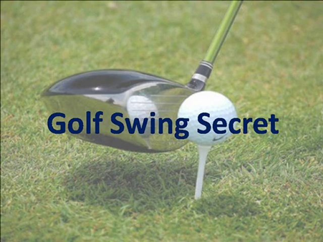 Golf Swing Secret | Simple Golf Swing System