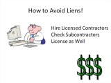 Avoiding a Mechanic's Lien in Riverside County