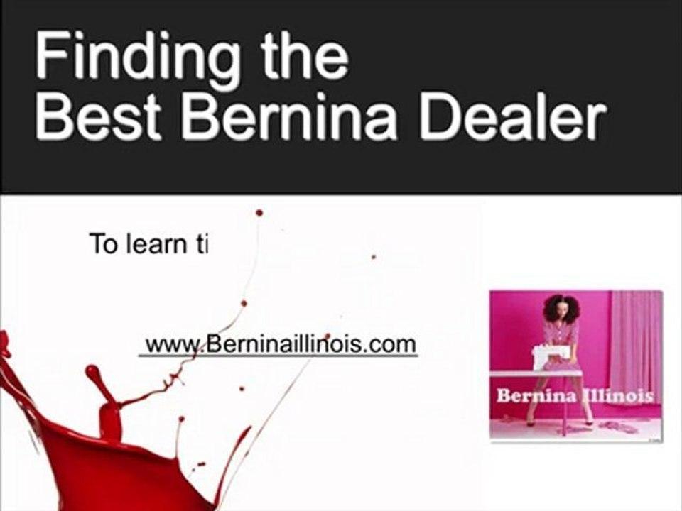 Bernina Chicago Sewing Machine Dealer : Chicago Bernina Sew