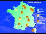 Météo 2 juillet 2010: Chaleur, pollution ozone, orages