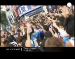 Japan goes into frenzy with World Cup victory - no comment