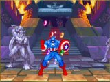 Marvel super heroes cps2 captain america