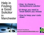 Divorce Solicitors  Manchester Find Best Solicitor  Manches