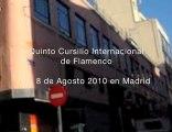 Stage pluridisciplinaire de Flamenco à Madrid Reportage 2009