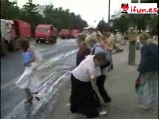 Pegados al suelo