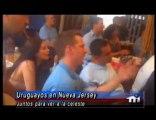 Uruguay-Nueva Jersey festejo