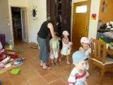 Juin 2010 - Anniversaire Lucile à la maison avec des copains